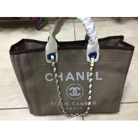 397c70f58 Bolsa Praia Chanel Barata - Calçados, Roupas e Bolsas Cinza escuro no  Mercado Livre Brasil