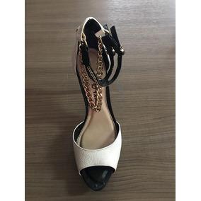 dcad74f84 Sandalia Branca Tamara - Sapatos no Mercado Livre Brasil