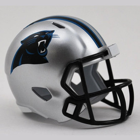 Mini Capacete Riddell Carolina Panthers Pocket Size