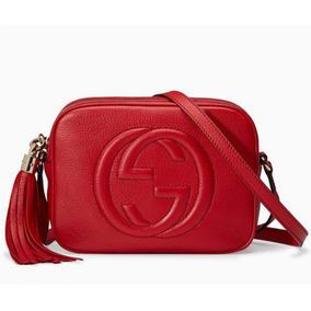Gucci Soho Preta Vermelha Marfim(creme) Rosé Verde Couro