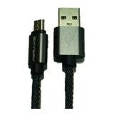 Cable Micro Usb Celular De Carga Rápida 1 Metro 2 Amper