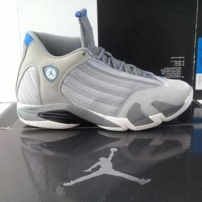 Jordan 14 Sport Blue (28cm) Retro Playoffs Last Shot Chicago
