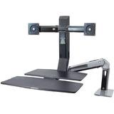Ergotron 24-310-026 Soporte Dual Monitor Articulado Flexible