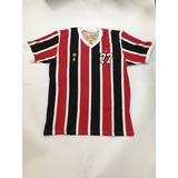 Camisa Retro Tricolor Paulista 1977