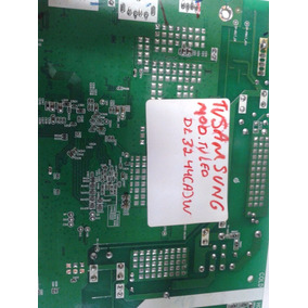 Placa Principal Da Tv Samsung Dl 32 44 [a]w , Cod * 35018109