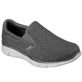 Skechers Slickste Slip On Gris Casual Deportivo Memory Foam