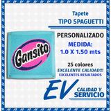 Tapete Tipo Spaguetti Personalizado (1.0 X 1.50) 25 Colores