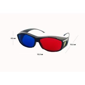 4356cc88e7 Gafas 3d Anaglífica, Ideal Para Poner Sobre Gafas Graduadas