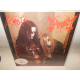 Mayhem Lp Vinil Acetato Morbid Tribute Black Emperors Dist0