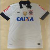 8c986c90e5 Camisa Corinthians Patch Escudo Fifa 2012 2013 100% Nike