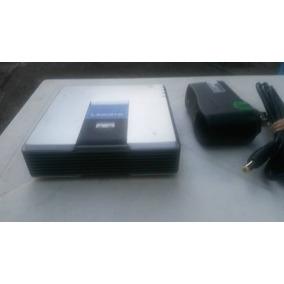 Adaptador Teléfono Desbloqueado Linksys Pap2t Voip 2 -