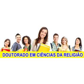Resultado de imagem para Curso Apostilado de Doutorado em Ciencias da Religião