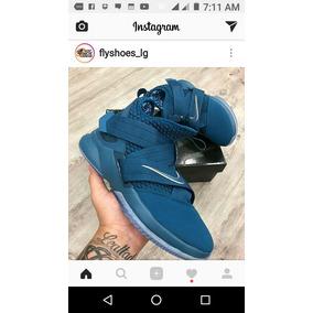 328af437 Lebron Soldier 10 - Zapatos Nike de Hombre Violeta en Mercado Libre ...