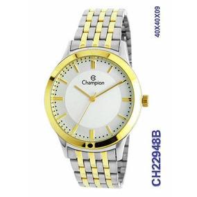fba7c31fa66 Relogio Champion Fem. Aço - Relógios De Pulso no Mercado Livre Brasil