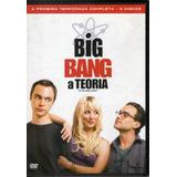 Dvd Big Bang A Teoria Primeira Temporada Completa 3 Discos