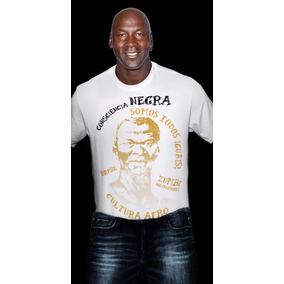 Camiseta Consciencia Negra Camisetas Manga Curta No Mercado Livre