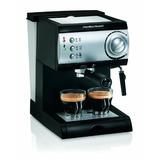 Hamilton Beach 40715 Cafetera Espresso Dos Tazas Color Negr
