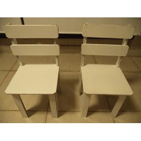 2 Cadeiras Infantil - Estilo Provençal