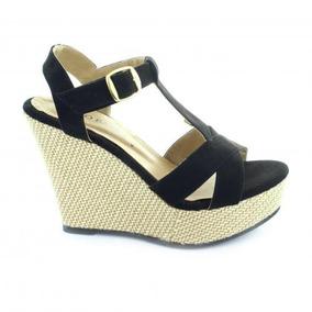 Sandalia Para Mujer Emilio Bazan 8719-022859 Color Negro 735604c8fe2f