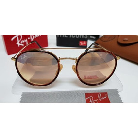 c9a22f84d6cc7 Oculos Rayban Round Rose - Óculos De Sol Ray-Ban Round no Mercado ...