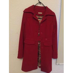 Elegante Y Lindo Abrigo Rojo