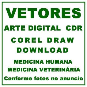 Vetores - Corel Draw - Simbolo Medicina Humana E Veterinaria