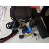 Camara Nikon D3100 Con Todos Sus Accesorios + Tripode