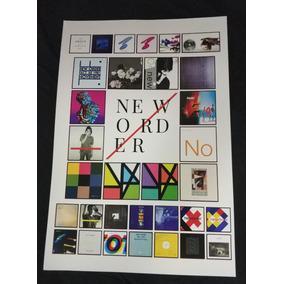 Poster New Order Poster Joy Division Banda New Order Cartaz