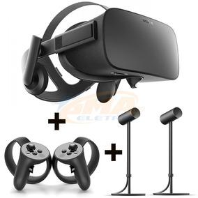 Oculus Rift Kit Headset + Controle Toutch + 2 Sensores