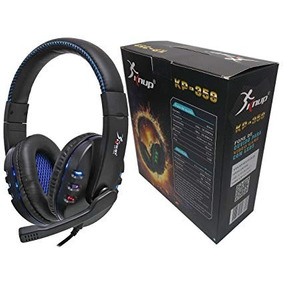Headset Gamer Usb Pc Ps3 Ps4 Knup Kp359 Cabo 2.5 Metros