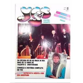 Yes Superposter Revista Somtrês Anos 80