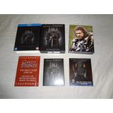 Box Raro Edição Europeia Blu-ray Game Of Thrones 01 Temp