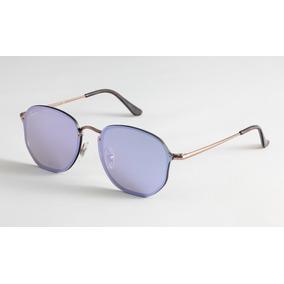 adb59263c422c Oculos De Sol Ray Ban Hexagonal Blaze Rb3579 Masculino Femin