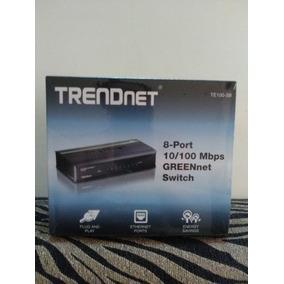 Switch 8 Puertos Trendnet 10/100 Mbps
