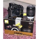 Cámara Reflex Digital Nikon D3400 18-52mm