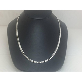 Cadena Plata 925 Tejido Cubano Diamantado 21gr65cmx4.5mm C32
