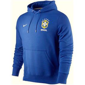 5c516fad5f Seleção Brasileira Azul - Moletom Masculinas no Mercado Livre Brasil