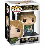 Funko Pop Kurt Cobain 65 Original Pop Rocks Scarlet Kids
