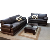 Muebles Sofa Juego De Sala Clasico En Bipiel Somos Fabrica