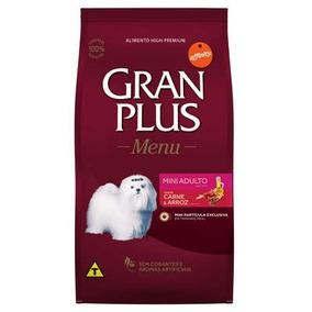 Ração Gran Plus Raças Pequenas Adulto Carne E Arroz 3kg