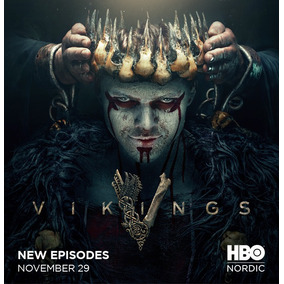 Dvd Série Vikings 5° Temporada Parte 2 Completa