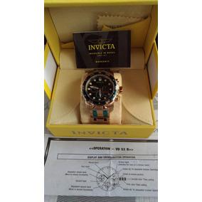 Relógio Invicta Original Pro Diver 0075 Banhado 18 K