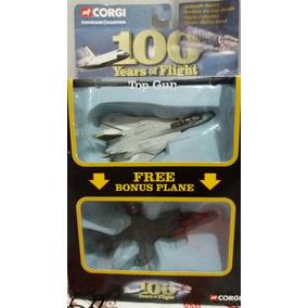 Corgi100 Ano De Vôo Da Aeronave F14 Tomcat E Flight Harrier