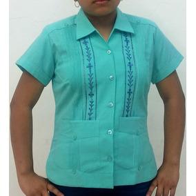 Guayabera Para Dama De Yucatán 040f63ee769