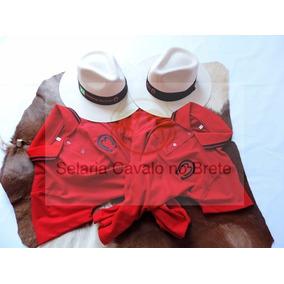 Dois Kit Camisa Chapéu Mangalarga Marchador Oficial Comitiva 78e1103aa14