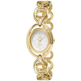 Relógio Feminino Analógico Dumont Du2035lqe/4k - Dourado
