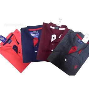 Kit 04 Camisa Masculina Polo Plus Size Especial G1 G2 G3 .