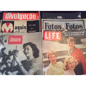 Revistas Avulsas Antigas - Lote Com 6 Unidades -
