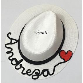 Chapeu Panama Personalizado - Acessórios da Moda no Mercado Livre Brasil f619d4fc921