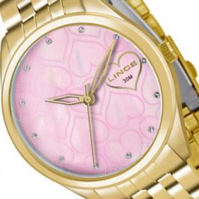 21ae83c49ce Relogio Feminino Dourado Barato Lince - Relógios De Pulso no Mercado ...
